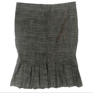 Work Skirt With Pleats